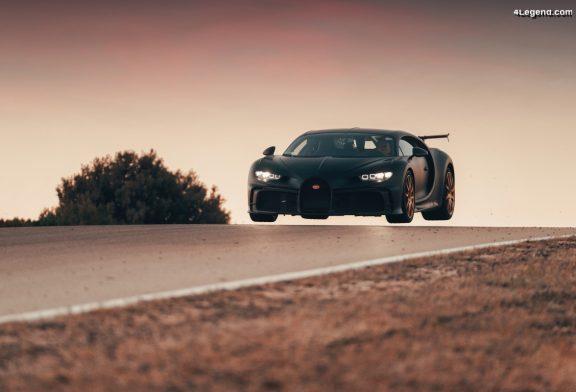 Démarrage prochain de la production de la Bugatti Chiron Pur Sport