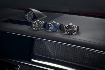 Un chronomètre fait main dans la nouvelle Porsche Panamera et au poignet