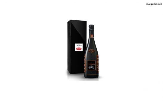 La cuvée de Champagne CARBON - Bugatti EB.02 Chiron 300+