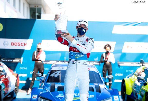 DTM - Nouvelle victoire d'Audi avec Robin Frijns au Nürburgring