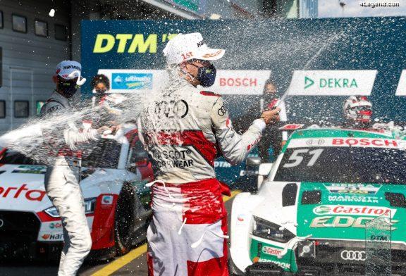 DTM - Victoire du pilote Audi Nico Müller au Nürburgring