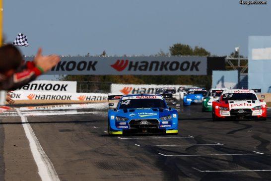 DTM - «Robin Good» : le pilote Audi Robin Frijns gagne à nouveau au Nürburgring