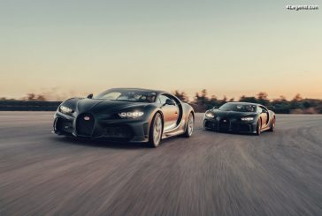 Essais des Bugatti Chiron Super Sport 300+ & Chiron Pur Sport à Nardò