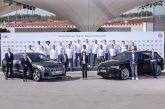Des Audi e-tron pour les joueurs de football du FC Bayern Munich