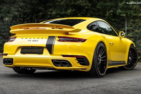 Manhart TR 850 - Une Porsche 911 Turbo S bestiale de 850 ch et 1 090 Nm