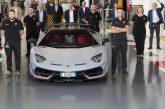 Lamborghini célèbre la production de sa 10 000ème Aventador