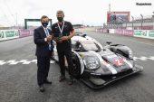 24H Mans 2020 - Porsche remet la maquette de la 919 Hybrid à l'ACO
