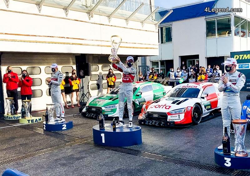 DTM - Le pilote Audi René Rast écrit l'histoire du DTM ...